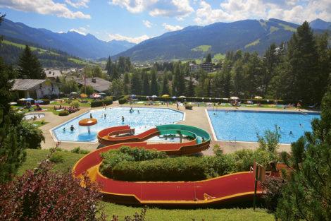Wanderurlaub & Sommerurlaub am Obersulzberggut in Radstadt, Salzburger Land - Baden & Schwimmen