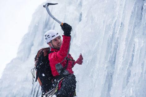Winterurlaub & Skiurlaub am Obersulzberggut in Radstadt, Salzburger Land - Eisklettern im Ski amadé