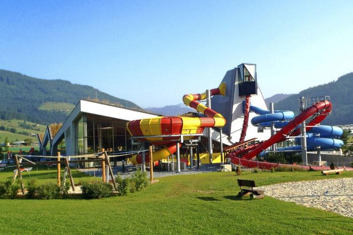 Urlaub am Bauernhof Obersulzberggut –Erlebnis-Therme Amadé in Altenmarkt – Salzburger Land – Ausflugsziel