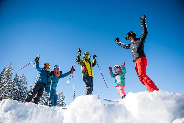 Familien-Skiurlaub in Radstadt