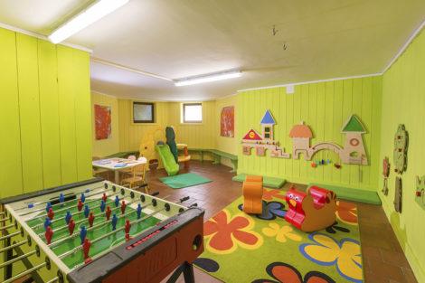 Kinder-Spielraum am Kinderbauernhof Obersulzberggut in Radstadt, Salzburger Land