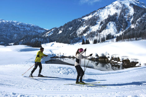 Winterurlaub & Skiurlaub am Obersulzberggut in Radstadt, Salzburger Land - Langlaufen im Ski amadé