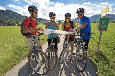 Wanderurlaub & Sommerurlaub am Obersulzberggut in Radstadt, Salzburger Land - Radfahren & Mountainbiken