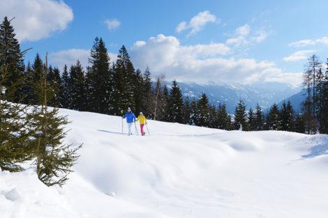 Winterurlaub & Skiurlaub am Obersulzberggut in Radstadt, Salzburger Land - Schneeschuhwandern im Ski amadé