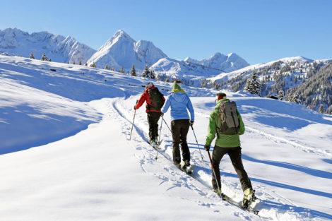 Winterurlaub & Skiurlaub am Obersulzberggut in Radstadt, Salzburger Land - Skitouren gehen im Ski amadé