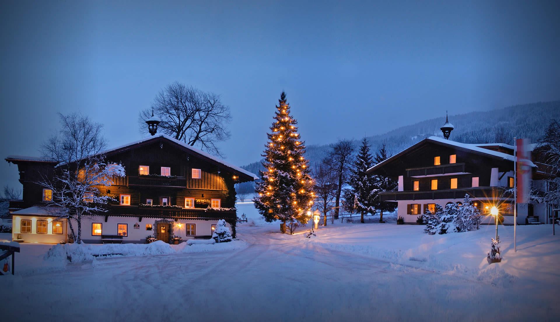 Urlaub am Bauernhof in Radstadt - Winter im Obersulzberggut