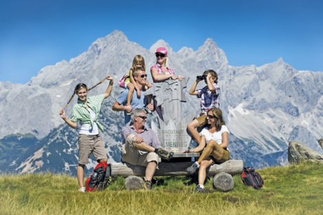 Wanderurlaub & Sommerurlaub am Obersulzberggut in Radstadt, Salzburger Land - Wandern