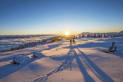 Winterurlaub & Skiurlaub am Obersulzberggut in Radstadt, Salzburger Land - Winterwandern im Ski amadé